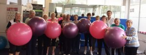 Young at Heart Fitness Class